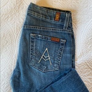 7 for all mankind A pockets jeans